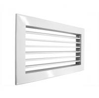 Алюминиевая однорядная вентиляционная решетка Shuft 1WA 100х100