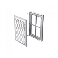 Вентиляционная приточно-вытяжная решетка Вентс МВ 125 с