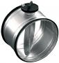 Воздушный клапан для круглых воздуховодов с ручной регулировкой  SK 100