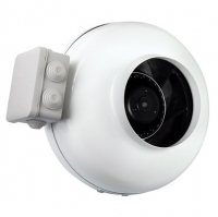 Круглый канальный вентилятор Shuft TUBE 125 XL серия TUBE