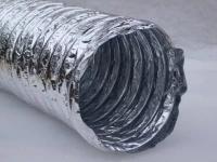 Гибкие неизолированные воздуховоды повышенной прочности  Zilon ZF-Н 102 мм